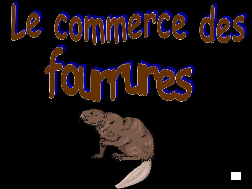 Le commerce des fourrures