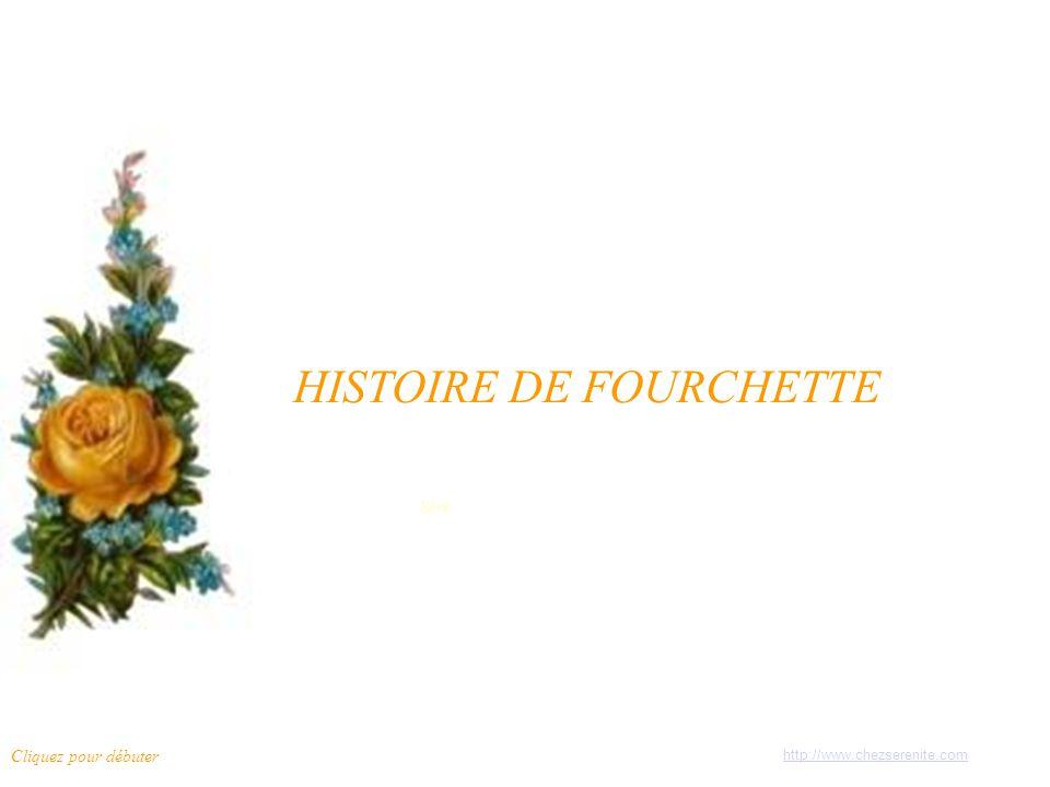 HISTOIRE DE FOURCHETTE