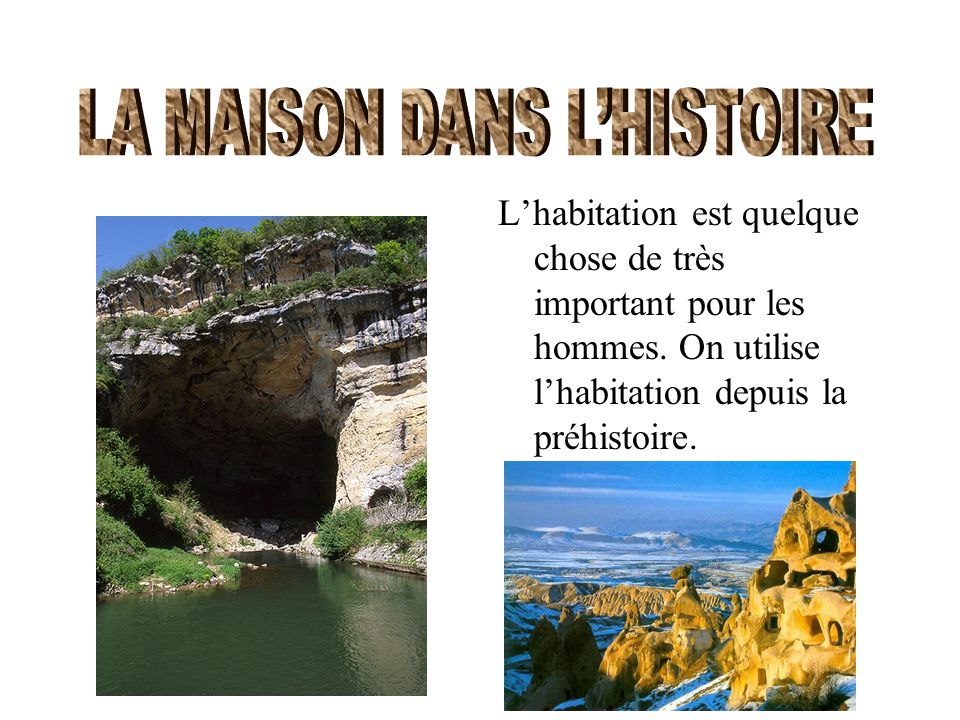 La maison dans l histoire ppt video online t l charger for Origine du mot maison