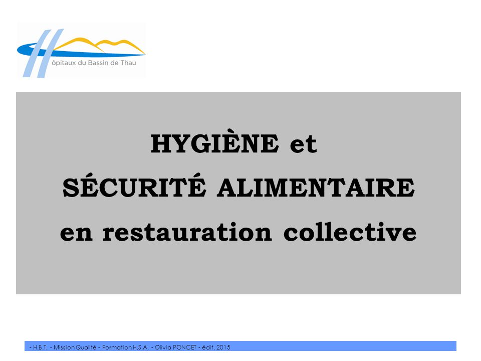 En restauration collective ppt video online t l charger for Responsable de cuisine collective