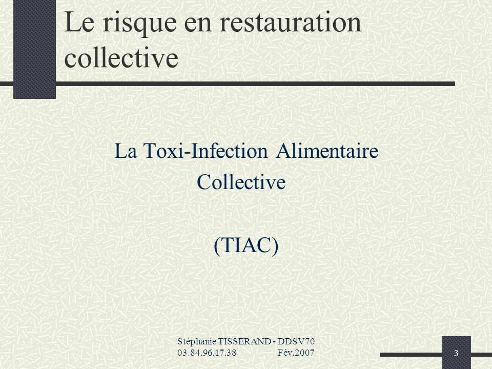 La restauration collective ppt t l charger for Agent en restauration collective