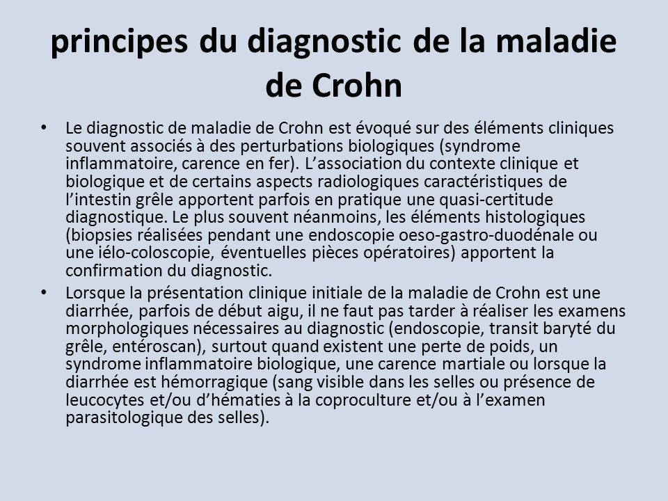la maladie de crohn la maladie de crohn est une maladie de la paroi digestive la rch est une. Black Bedroom Furniture Sets. Home Design Ideas