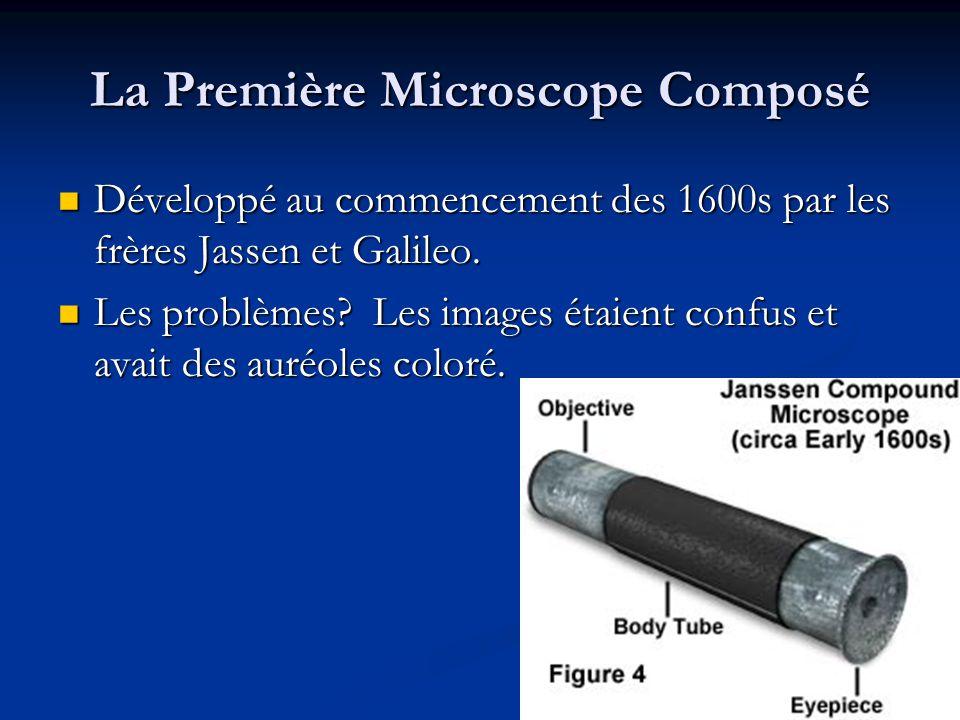 La Première Microscope Composé