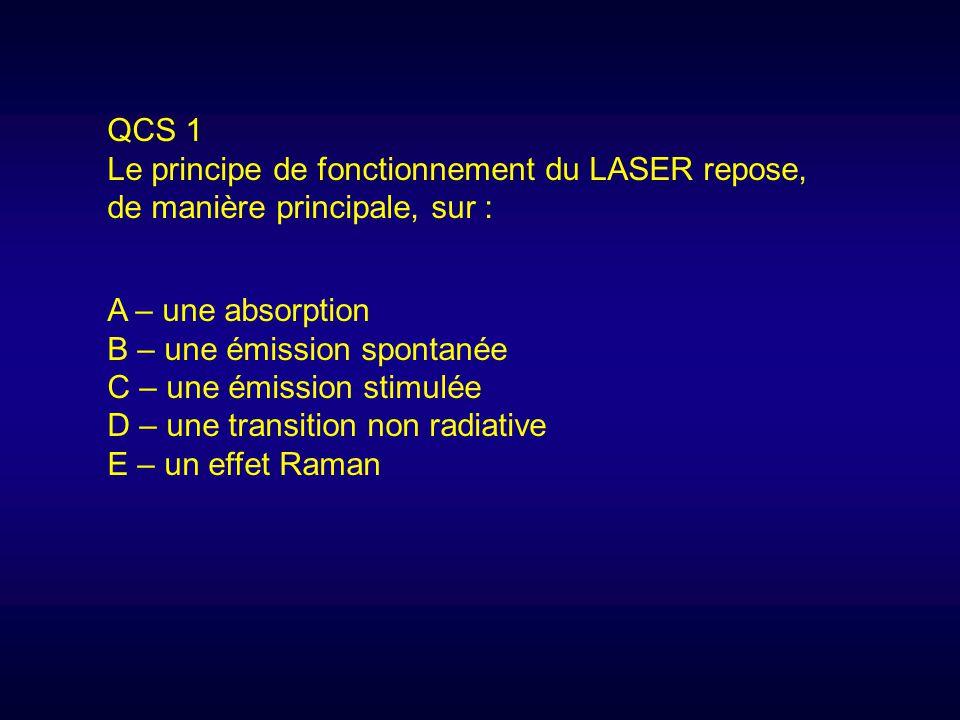 principe de fonctionnement du laser pdf