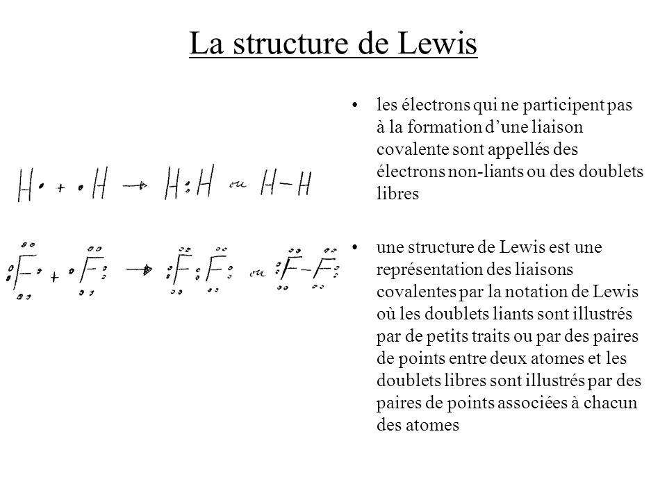 La structure de Lewis