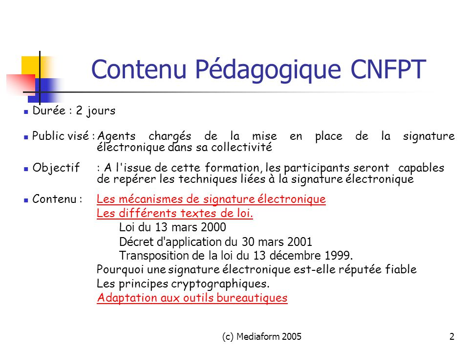 Signature electronique ppt t l charger for Faites vos propres plans libres