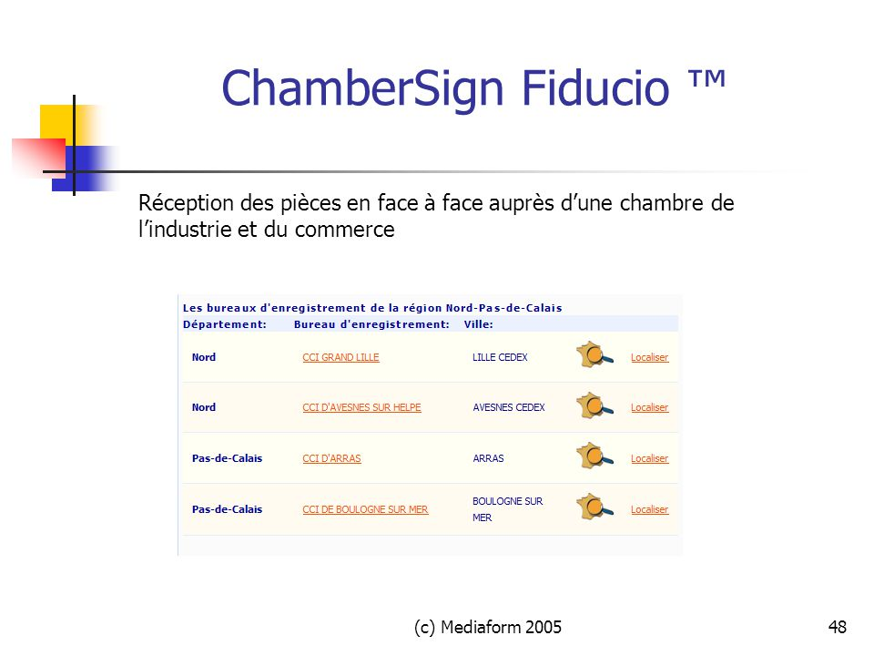 Signature electronique ppt t l charger - Chambre du commerce et de l industrie nancy ...