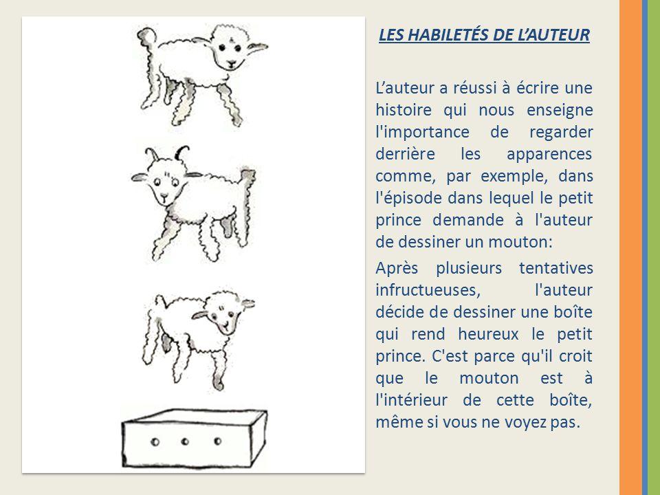 LES HABILETÉS DE L'AUTEUR