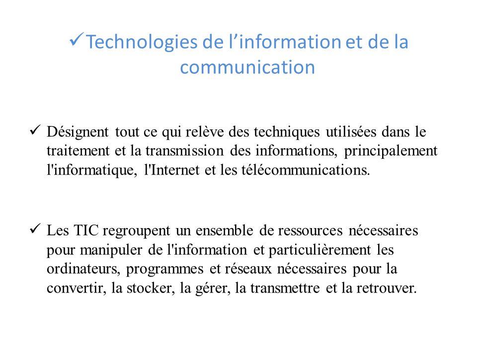 ETHIQUE ET TIC Préparé et présenté par : M. Rami KHALID ...