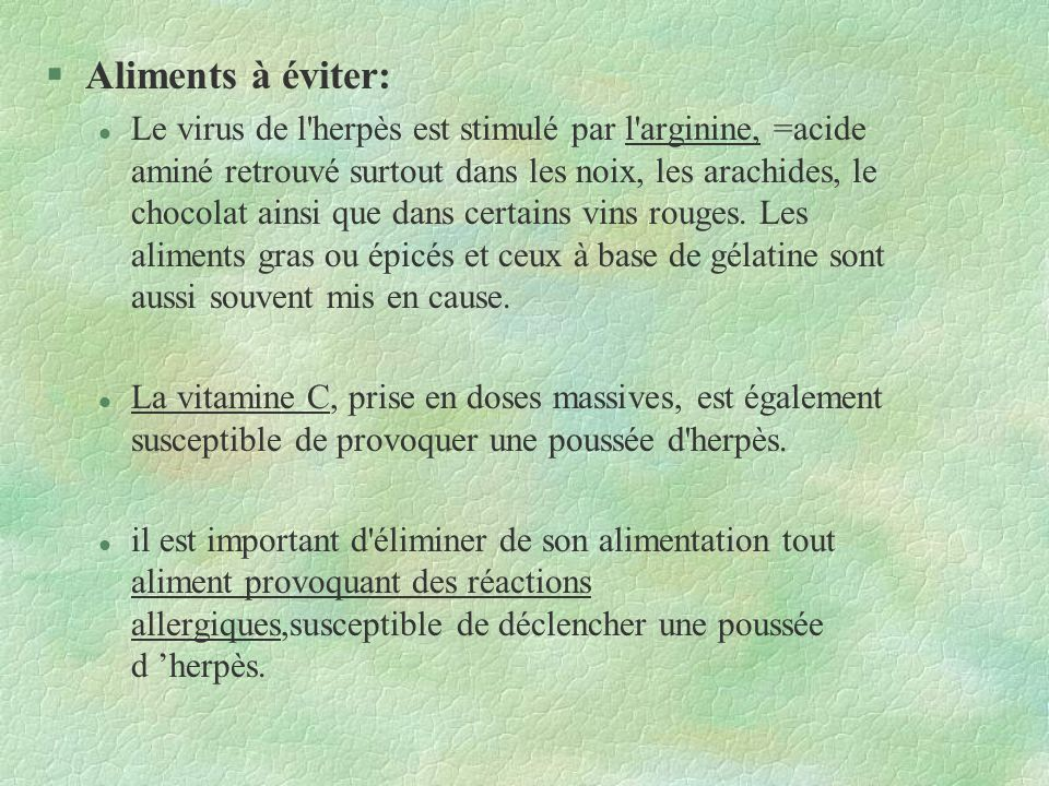 Infection à herpès virus de l'enfant et de l'adulte