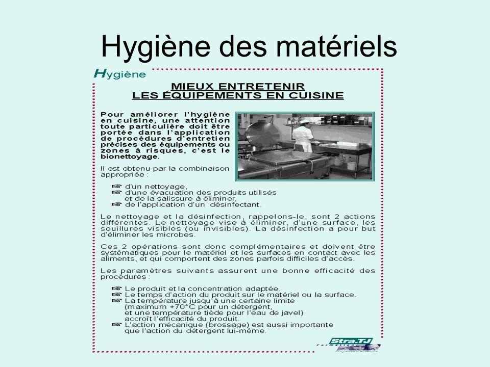 Les modules d hygi ne d finition les microbes hygi ne des - Mesure d hygiene en cuisine ...