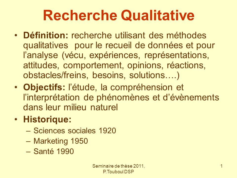 Recherche Qualitative Ppt Video Online Telecharger