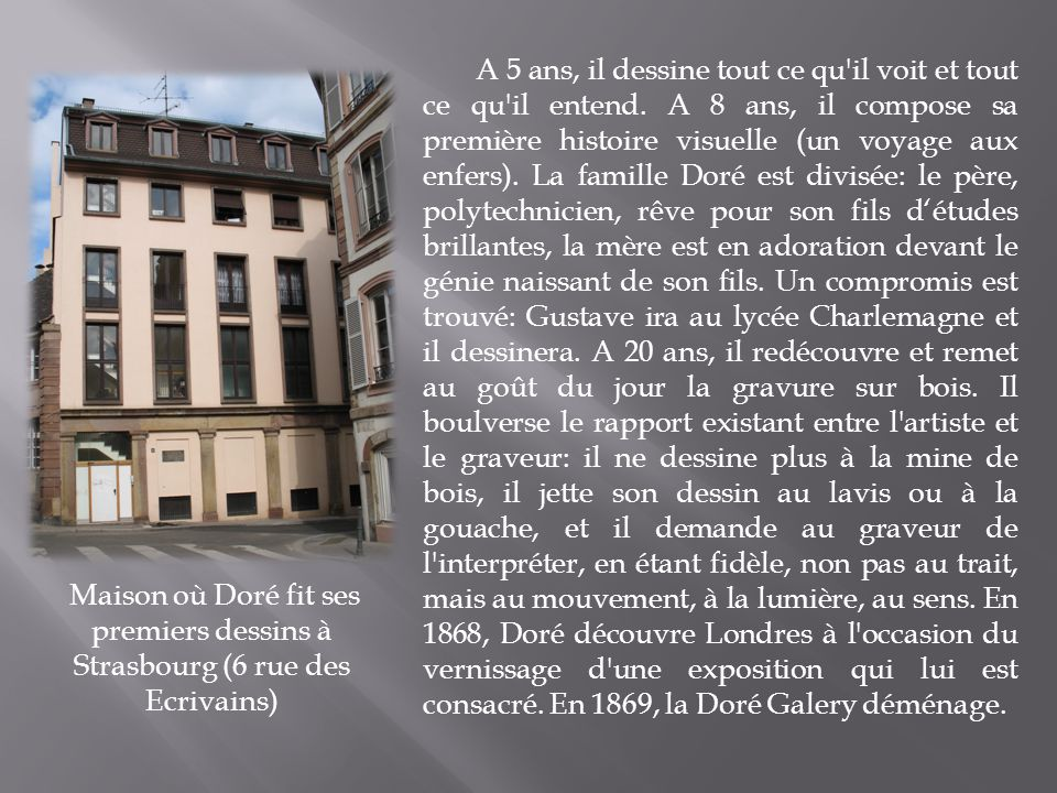 Gustave dor gustave dor est un illustrateur graveur - Qu est ce qu un attrape reve ...