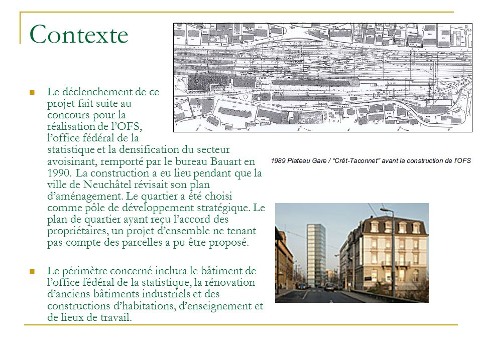 Auce 2602 travail sur un coquartier ppt video online for Construction suite online