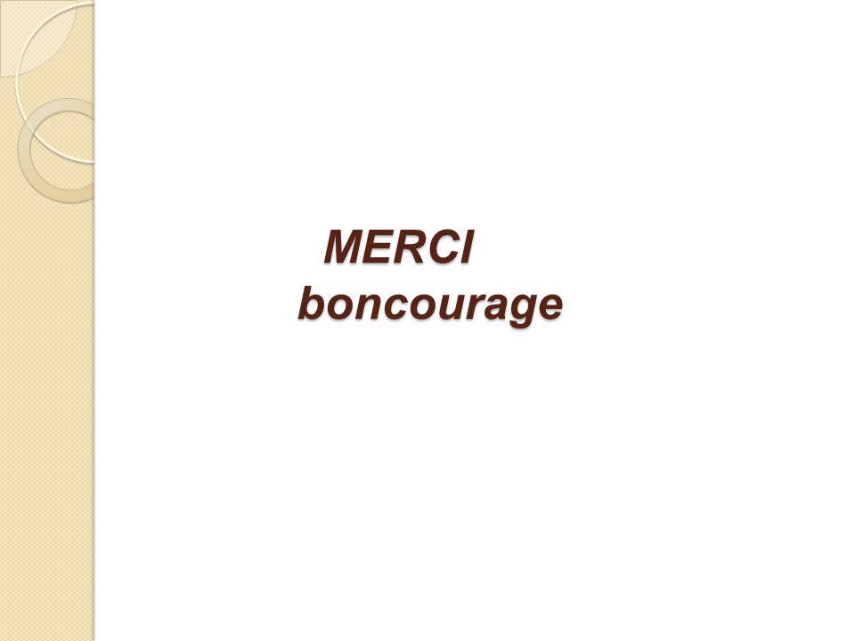 MERCI boncourage