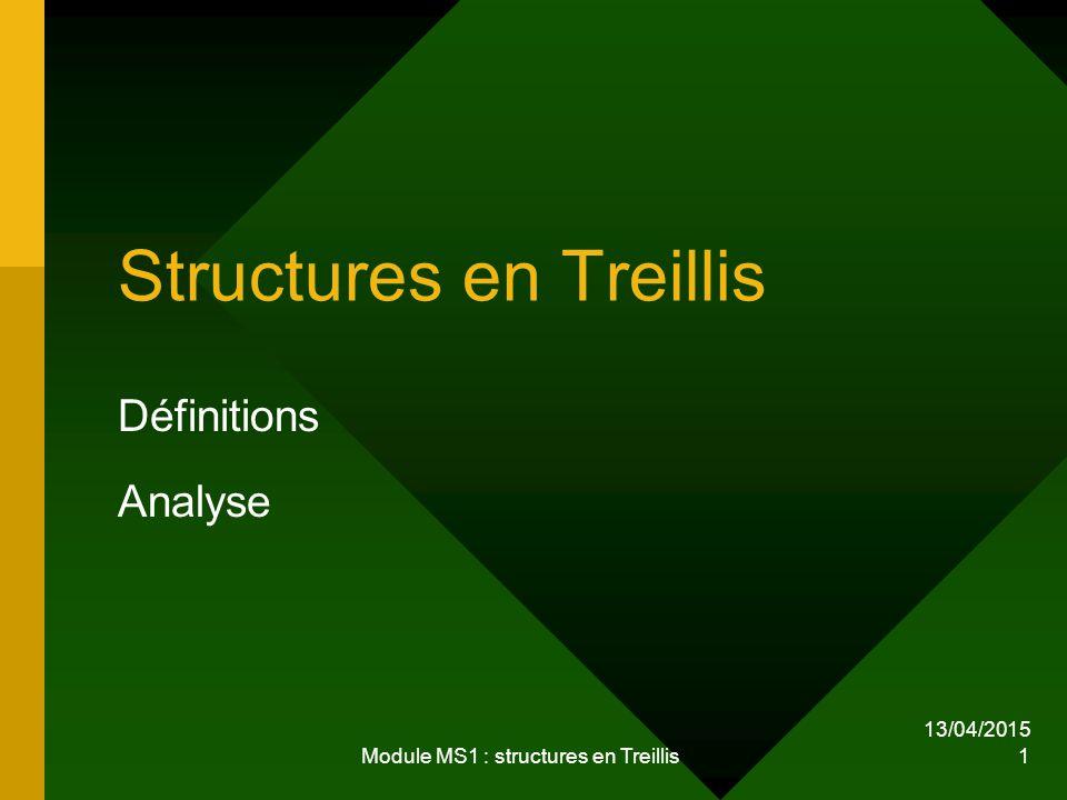 Structures en Treillis