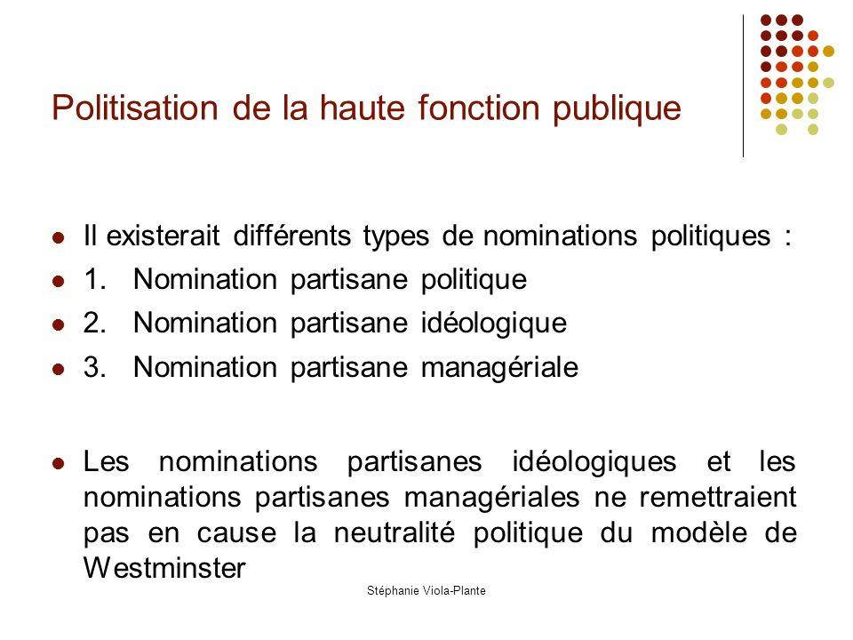 la haute fonction publique les ministres et les