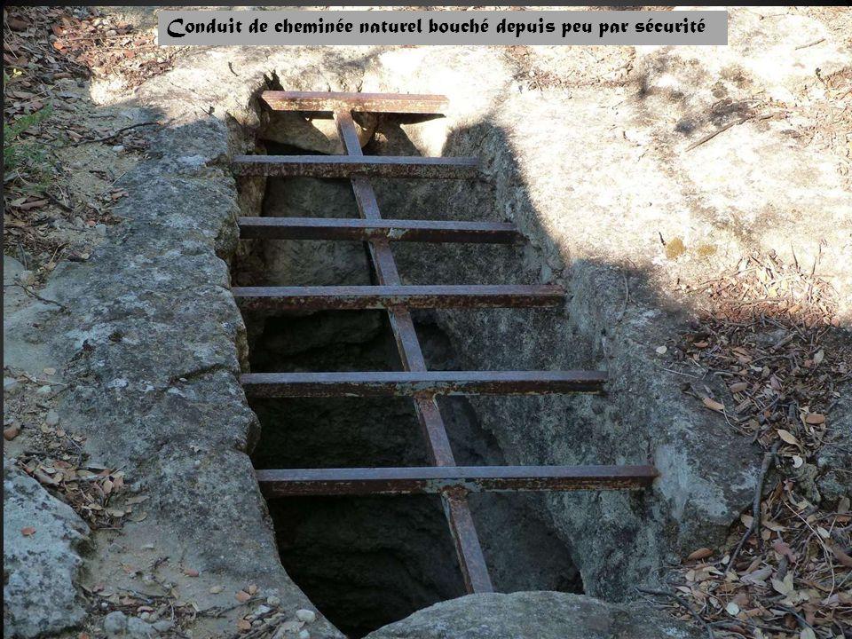 Conduit de cheminée naturel bouché depuis peu par sécurité