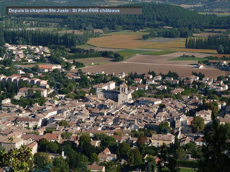Autour du plateau de saint restitut dr me proven ale - La table des seigneurs saint paul trois chateaux ...