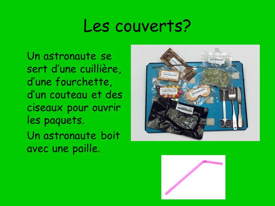 Manger dans l espace l astronaute canadienne julie payette - Ouvrir un powerpoint avec open office ...
