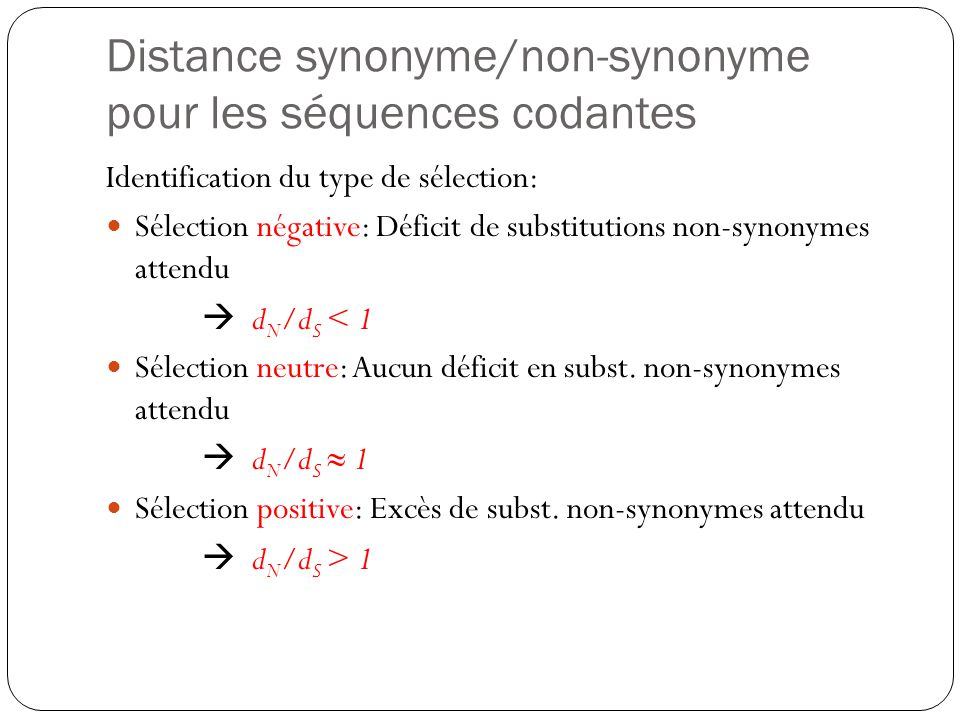 Introduction la phylog nie ppt t l charger - Synonyme de construire ...