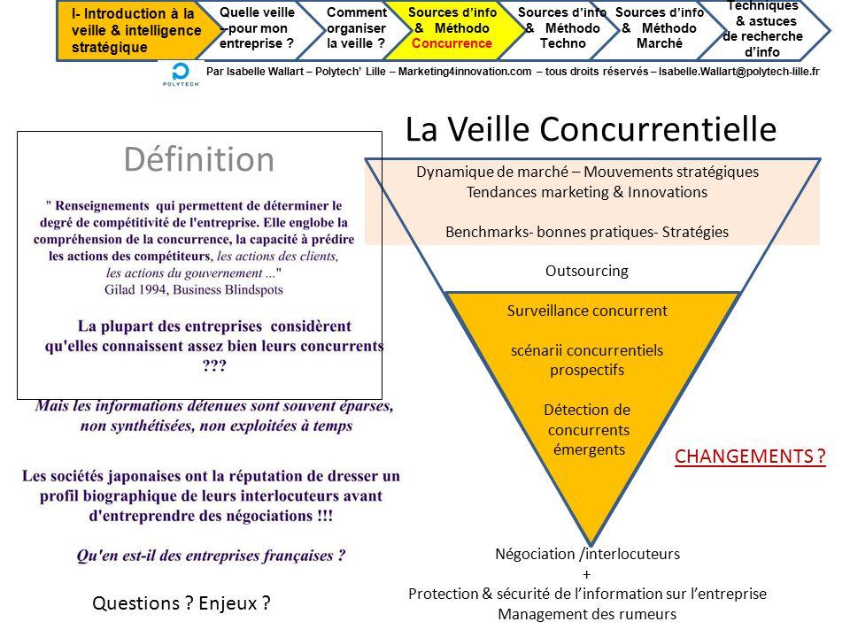 Préférence 1ère partie : Introduction à la veille & intelligence stratégique  PK66