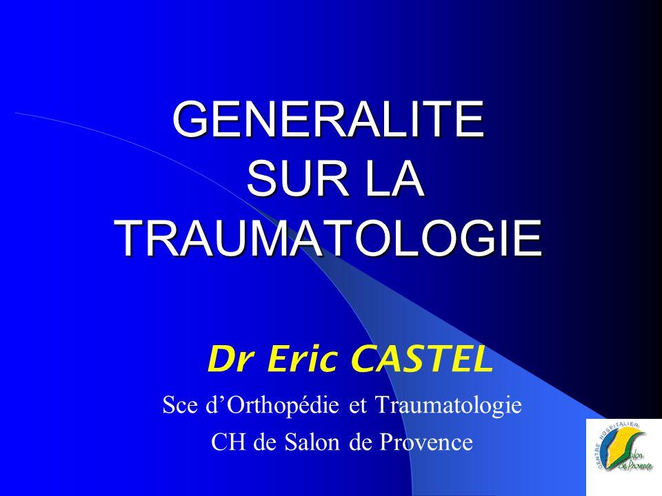 Foyer D Urgence Salon De Provence : Generalite sur la traumatologie ppt télécharger