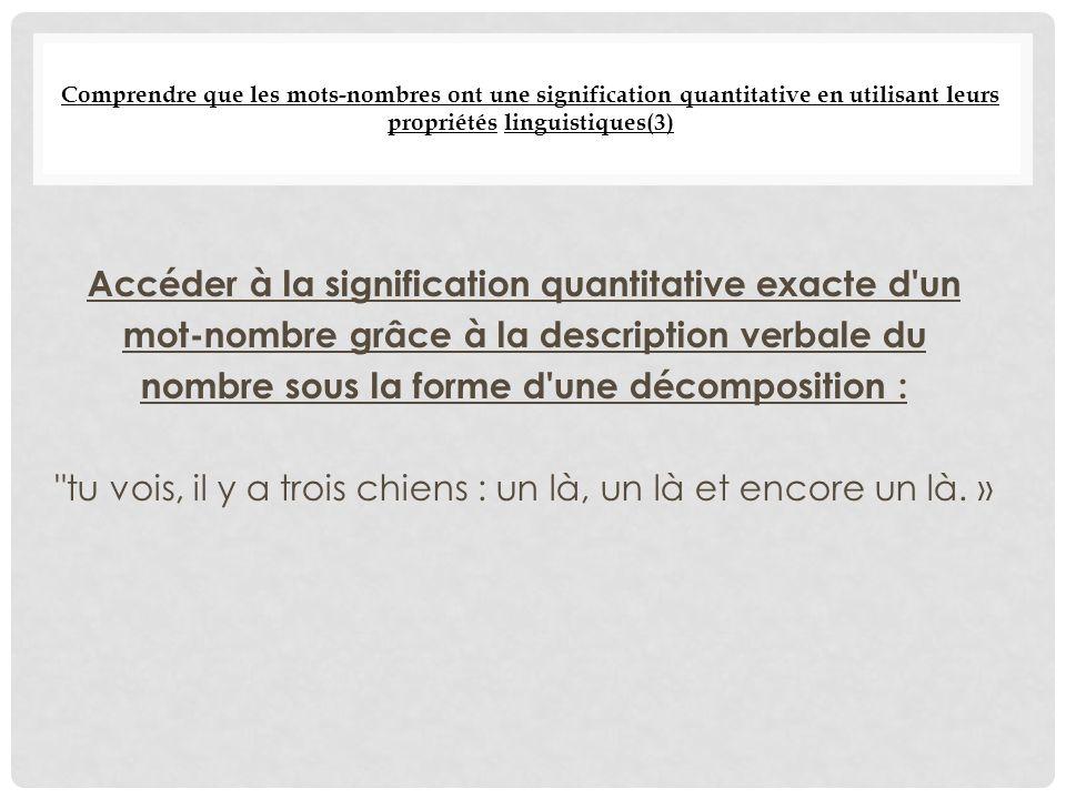 L acquisition du nombre ppt t l charger for Nombre 13 signification