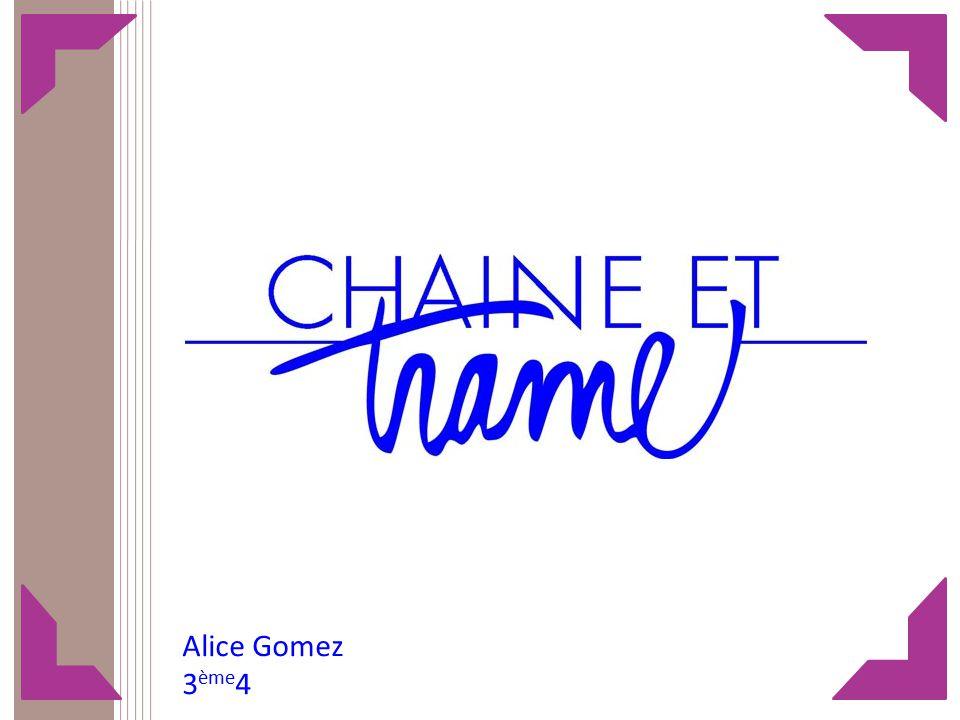 Alice Gomez 3ème4