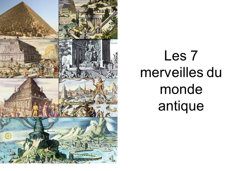 Les 7 merveilles du monde antique ppt video online for Les magasins du monde
