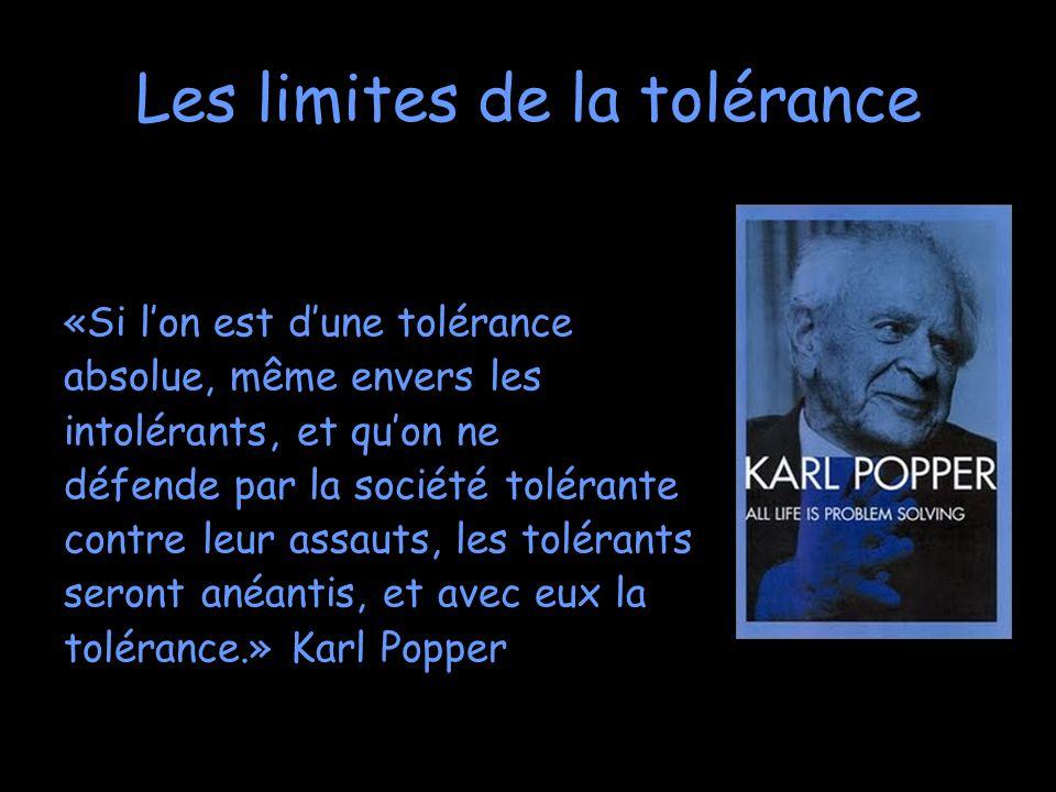Epean, La tolérance est un instrument