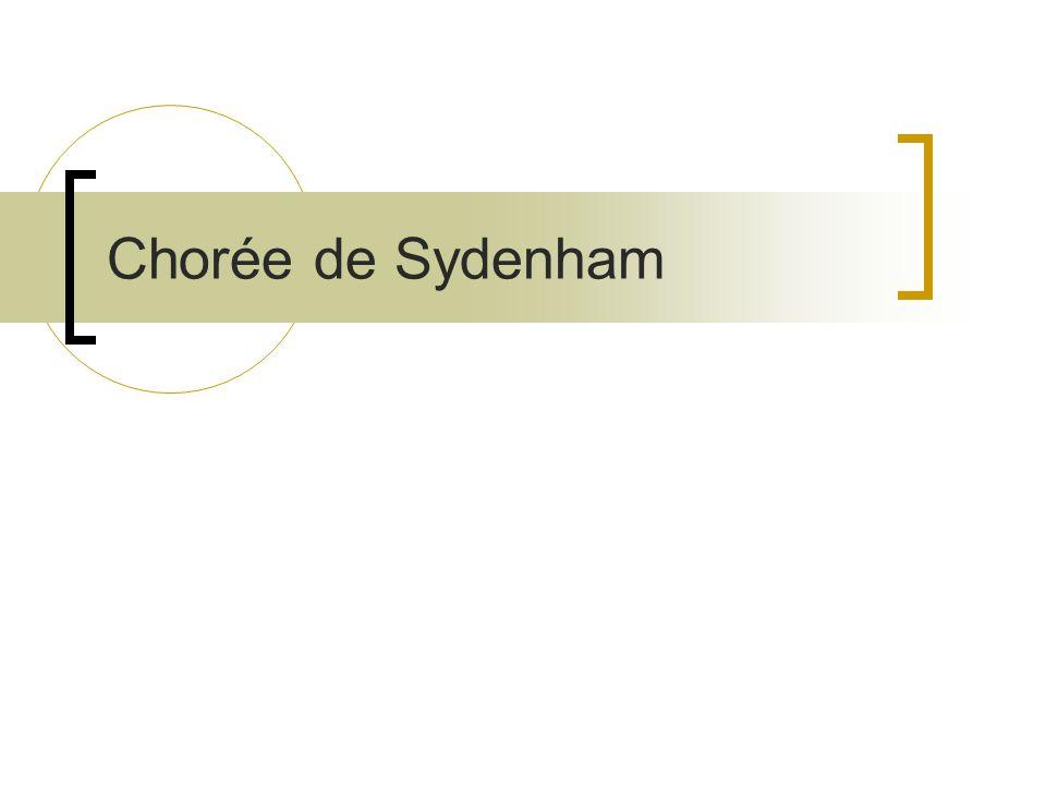 Chorée de Sydenham