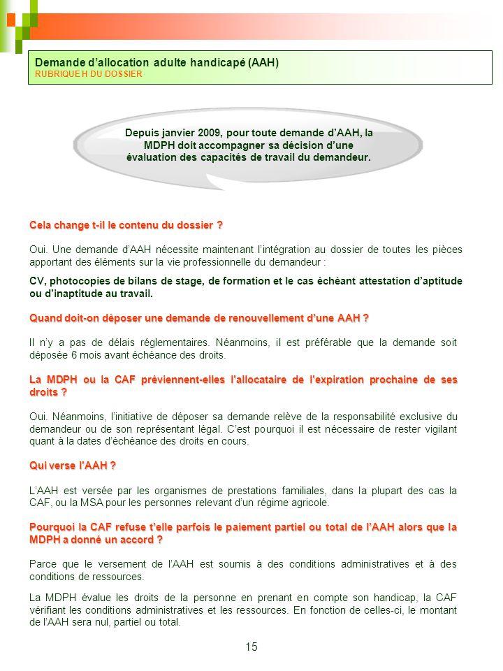 Caf Allocation Pour Adulte Handicap Ef Bf Bd