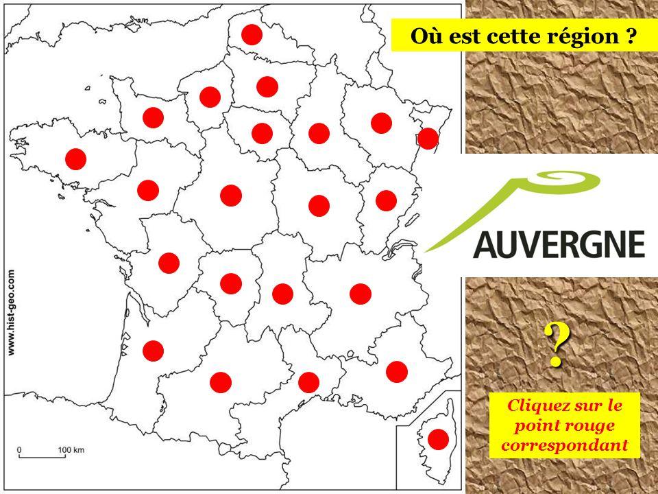 Cliquez sur le point rouge correspondant