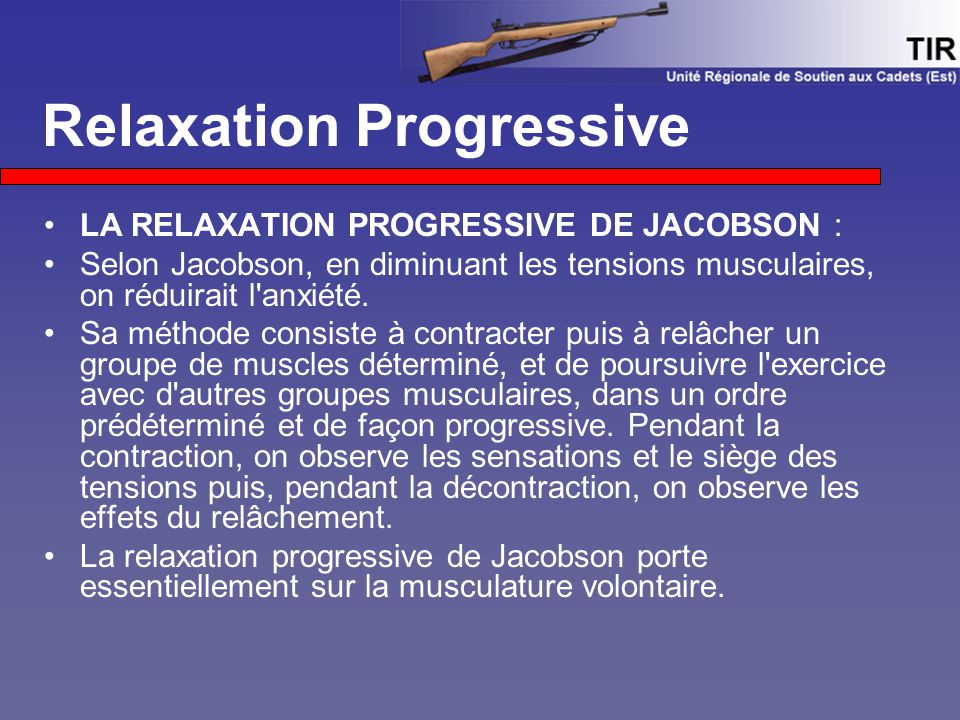 relaxation jacobson enregistrement