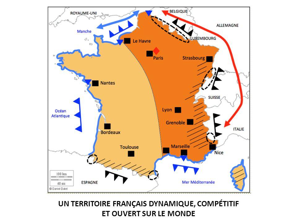 UN TERRITOIRE FRANÇAIS DYNAMIQUE, COMPÉTITIF ET OUVERT SUR LE MONDE