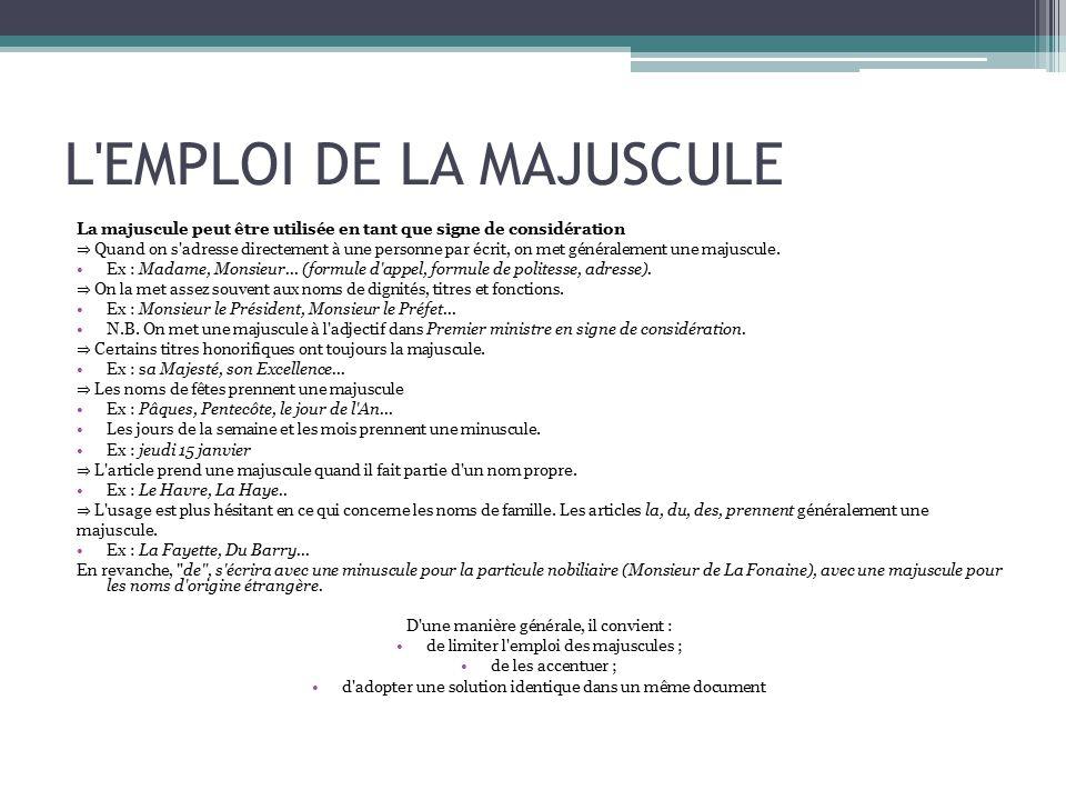 modalit u00e9s de la communication administrative