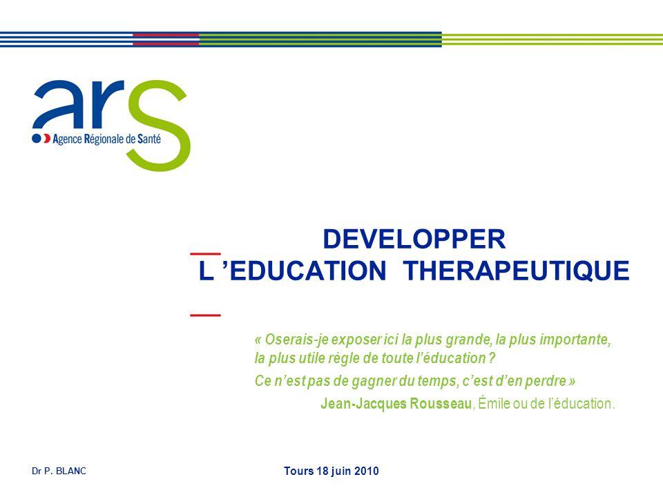 scénario education thérapeutique