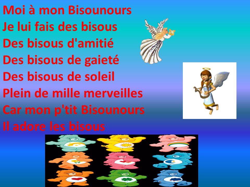 Mercredi 12 avril 20 26 les bisounours ppt t l charger - Bisounours soleil ...