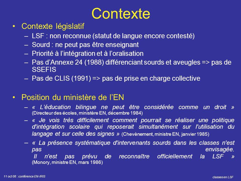 Préférence Conférence EN-IRIS, 11 octobre ppt télécharger BP72
