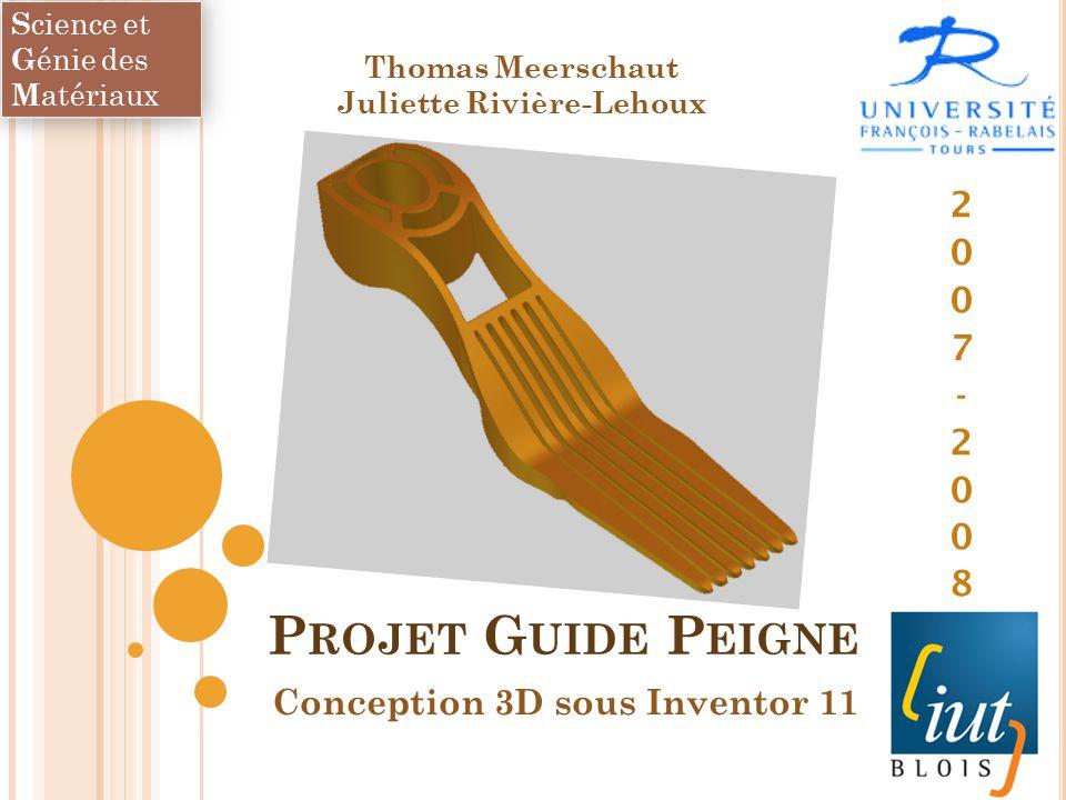 Conception 3d sous inventor ppt t l charger for Conception 3d