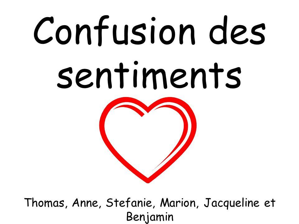 Confusion des sentiments