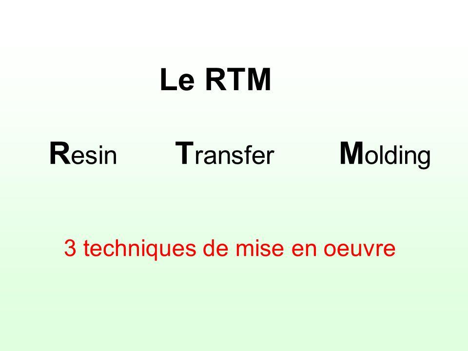 Proc d rtm fabri 4 pr sentation du 22 03 2003 bonifacie for Mise en oeuvre resine epoxy