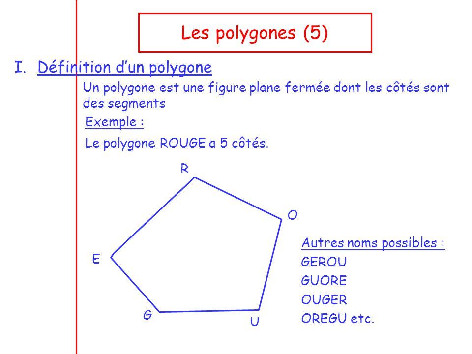 les polygones 5 d finition d un polygone ppt t l charger. Black Bedroom Furniture Sets. Home Design Ideas