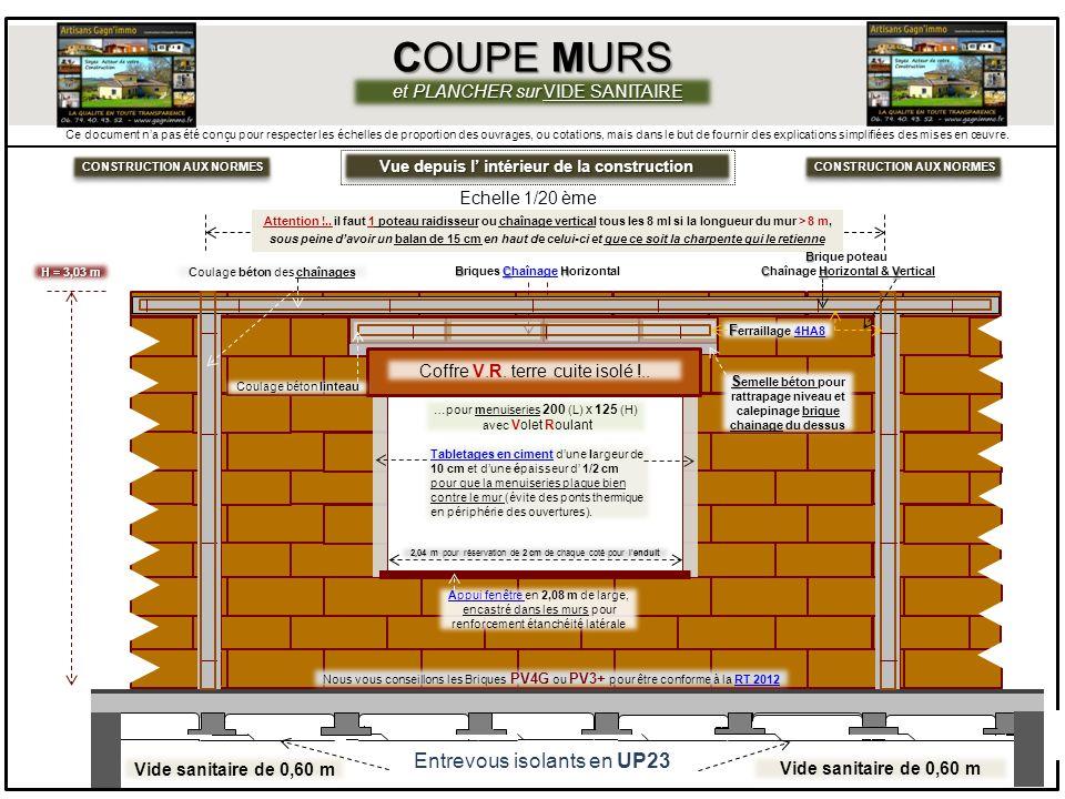 Construction aux normes construction aux normes ppt video online t l charger - Plancher sur vide sanitaire ...