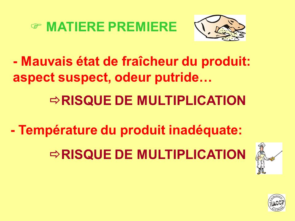 RISQUE DE MULTIPLICATION RISQUE DE MULTIPLICATION