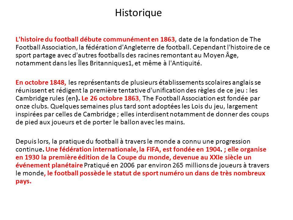 Football ppt video online t l charger - Histoire de la coupe du monde ...