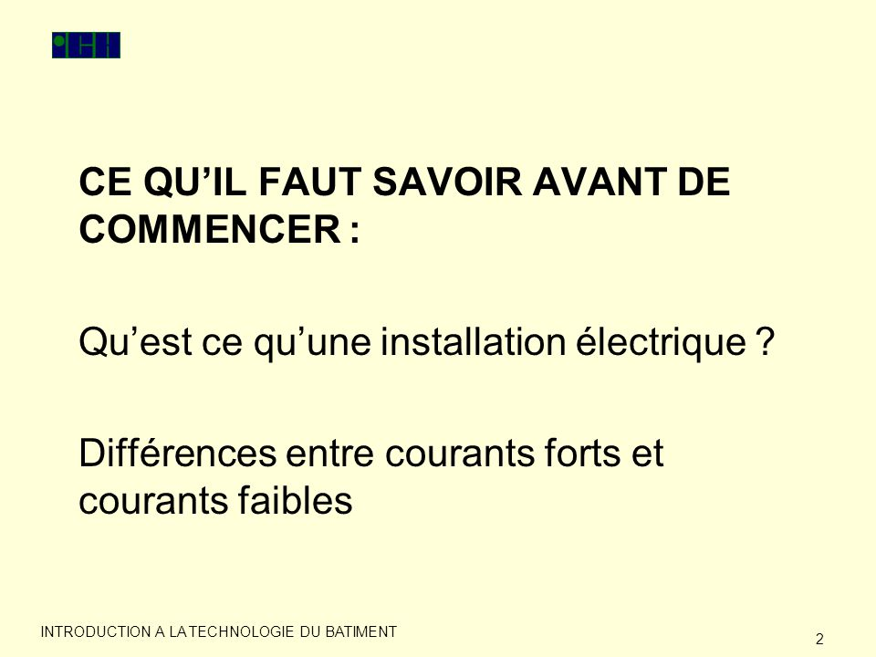 Introduction a la technologie du batiment ppt video - Faut il tondre avant de scarifier ...