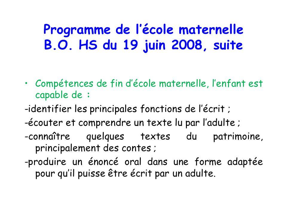 le langage  u00e0 l u2019 u00e9cole maternelle