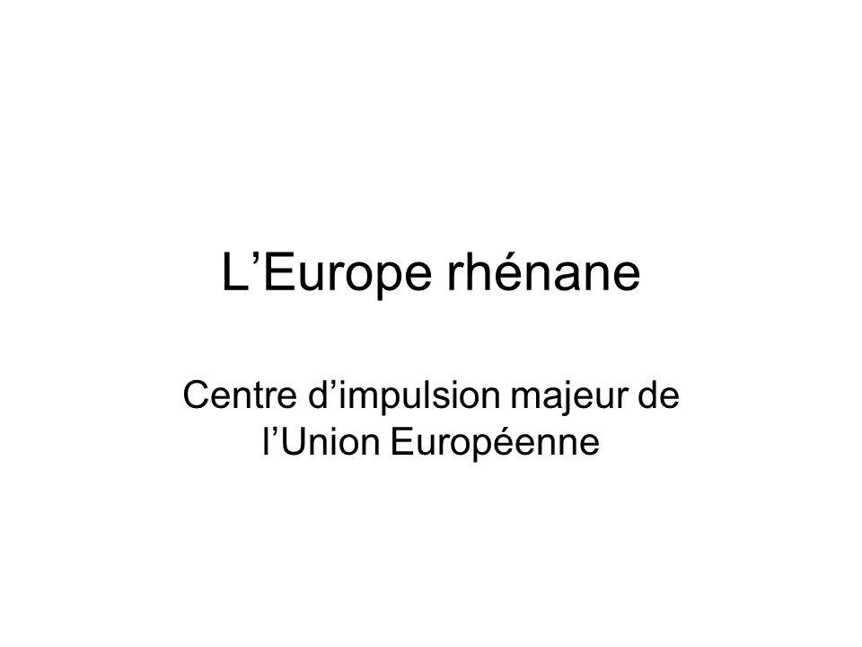 Centre d'impulsion majeur de l'Union Européenne